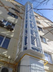 Шахта лифтов 2