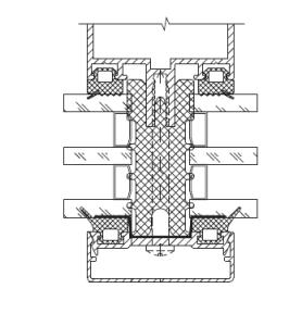алюминиевое фасадное остекление