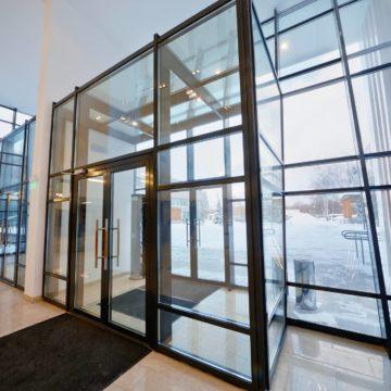 Теплые алюминиевые двери СИАЛ