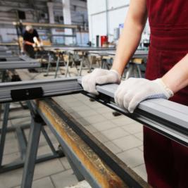 Изготовление алюминиевых конструкций из давальческого сырья